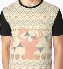 Ultimate Ugly Hipster Combo Graphic T-Shirt