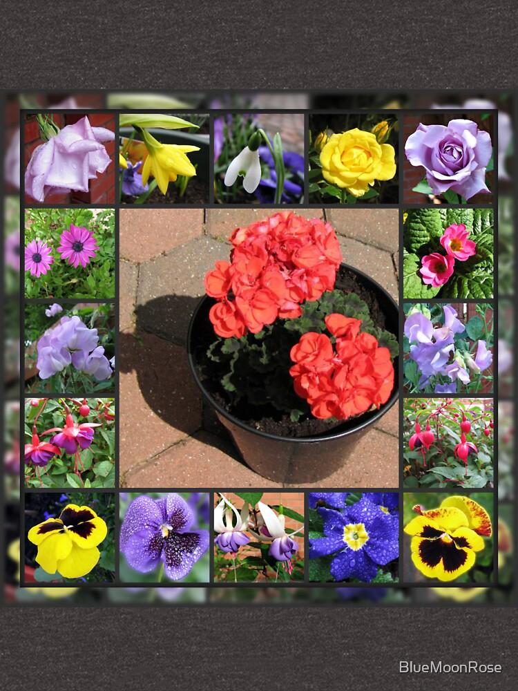 Sonnenschein und Duschen-Blumencollage von BlueMoonRose