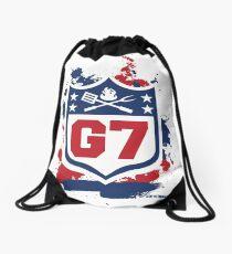 Gridiron Graffiti – Team G7 Drawstring Bag