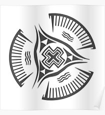 Nippur 3200 BCE Bowl Grey  Poster