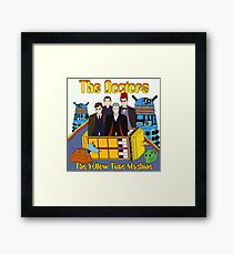 The Yellow Time Machine Framed Print
