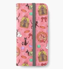 Kiki in pink iPhone Wallet/Case/Skin