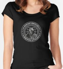 Anonymous Revolution Women's Fitted Scoop T-Shirt