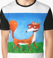 Clever fox Graphic T-Shirt
