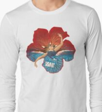 Flower Hawaii Pele Long Sleeve T-Shirt