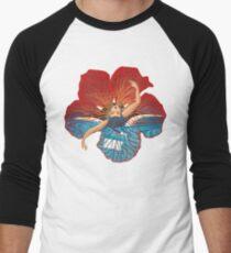 Blume Hawaii Pele Baseballshirt mit 3/4-Arm