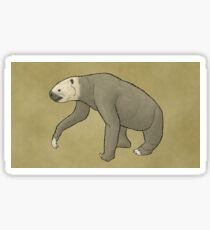 The giant ground sloth Megalonyx Sticker