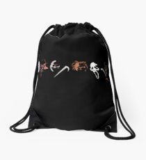Slashers Drawstring Bag
