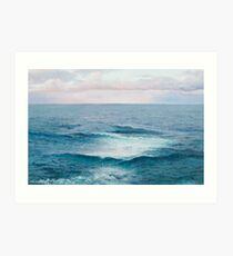 Beach painting - The Ocean Art Print