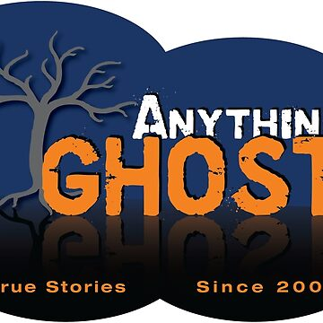 Anything Ghost Tree Logo - Blue by anythingghost