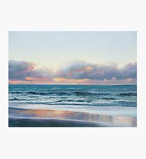 Ocean painting - Days End Photographic Print