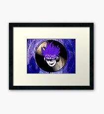 Punk Rock Vinyl Record -  MUSIC! Framed Print