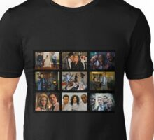 """Psych """"in Character"""" Collage Unisex T-Shirt"""
