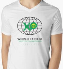 Expo 88 25th Anniversary Men's V-Neck T-Shirt