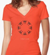 Expo '67 - 1967+50 Women's Fitted V-Neck T-Shirt