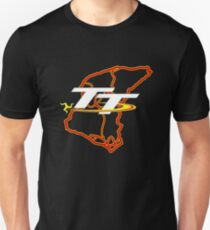 Isle of man tt mountain course map Unisex T-Shirt