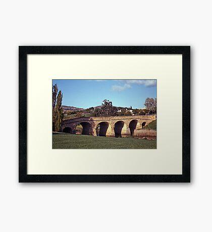 Spring, Richmond Bridge—Kodachrome 64 Framed Print