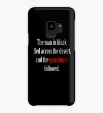 The man in black and the Gunslinger Case/Skin for Samsung Galaxy
