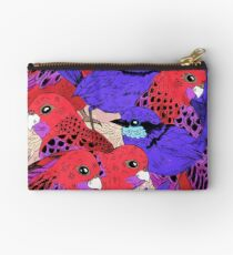 Wrens and Rosellas Delight! Studio Pouch