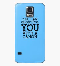 Shooting with a Canon Case/Skin for Samsung Galaxy