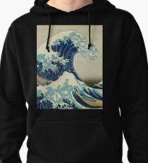 Great Wave off Kanagawa Pullover Hoodie