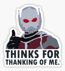 Thinks for thanking of me. Sticker