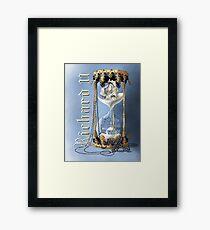 Richard II Shakespeare David Tennant I Wasted Time Framed Print