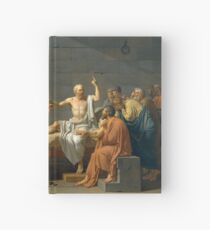 Death of Socrates  Hardcover Journal