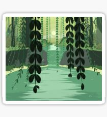 Misty Marsh Sticker