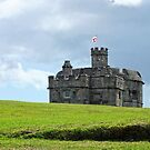 Pendennis Castle, Falmouth by Ludwig Wagner