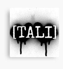 Tali logo Canvas Print