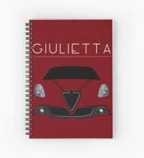 Italian passion Spiral Notebook