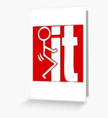 F# IT Greeting Card