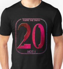 Placebo - twenty years Unisex T-Shirt