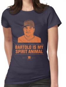 Bartolo Is My Spirit Animal Womens Fitted T-Shirt