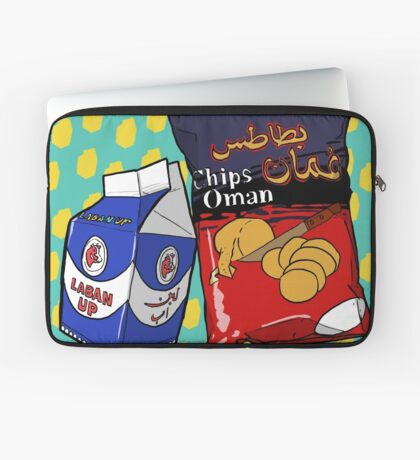 BIG Oman Chips & Laban Up Laptop Sleeve