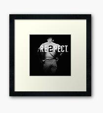 Respect Derek Jeter Re2pect Framed Print