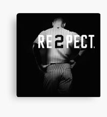 Respect Derek Jeter Re2pect Canvas Print