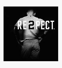 Respect Derek Jeter Re2pect Photographic Print
