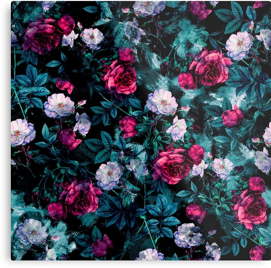 RPE FLORAL ABSTRACT III by RIZA PEKER