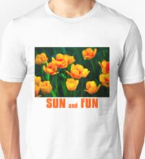 Yellow Tulips - Sun And Fun T-Shirt