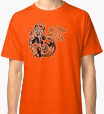Fox tribal tattoo Classic T-Shirt