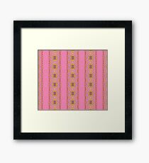 Silicon-based life form - 3BB pink Framed Print