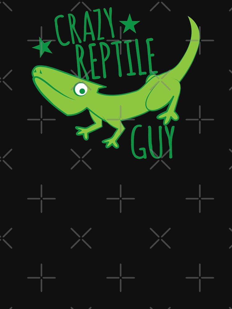 Crazy reptile Guy by jazzydevil