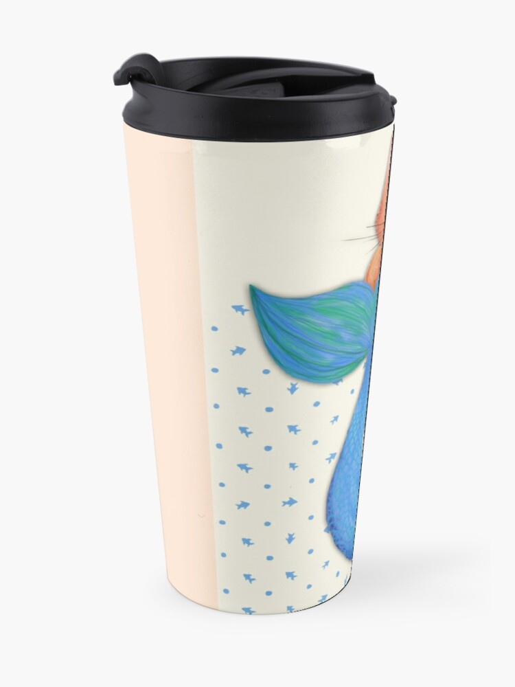 Alternate view of Merkitten Life Lesson #14 - You are NOT your food Travel Mug