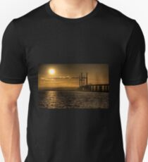 Severn Bridge Sunset Unisex T-Shirt