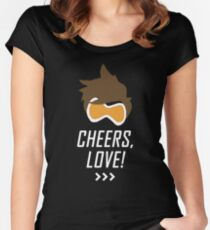 Cheers, Love! Women's Fitted Scoop T-Shirt