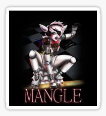Mangle Fan Art Sticker