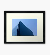 Modern Office Glass Building Framed Print