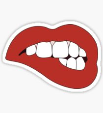 Lip Bite Sticker